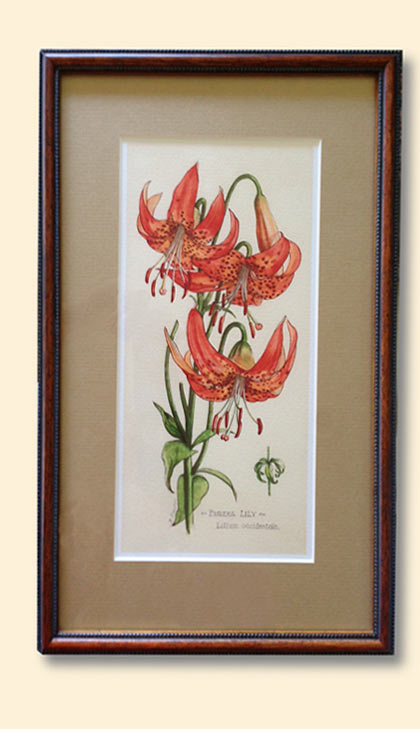 image of framed print